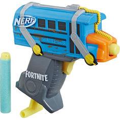 Акция на Бластер Nerf Fortnite MicroShots Battle Bus (E6752) от Allo UA