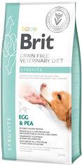 Акция на Сухой корм для взрослых Brit VetDiets при мочекаменной болезни с яйцом индейкой горохом и гречкой 12 кг (8595602528219) от Rozetka
