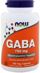 Аминокислота Now Foods GABA (Гамма-Аминомасляная Кислота) 750 мг 200 капсул (733739001290) от Rozetka