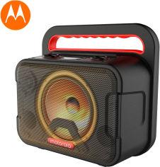Акция на Караоке акустическая система Motorola SONIC MAXX 810 FM Radio TWS Bluetooth Black (SP019) от Rozetka