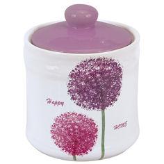Акция на Банка для продуктов 550 мл Happy Home Limited Edition HJ1430 от Podushka
