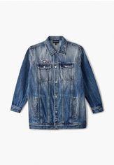 Акция на Куртка джинсовая Emporio Armani от Lamoda