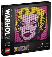 Акция на Конструктор LEGO Art Мэрилин Монро Энди Уорхола (31197) от MOYO