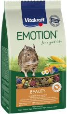 Акция на Корм для дегу Vitakraft Emotion Beauty 600 г (4008239337610/4008239314642) от Rozetka