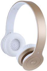 Акция на Наушники Gemix BH-07 Bluetooth Gold (BH07GL) от Rozetka