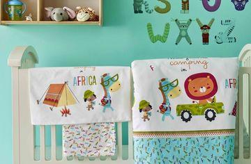 Акция на Комплект постельного белья для младенцев Karaca Home Camping Ранфорс Turkuaz 100х150 Бирюзовый (svt-2000022254069) от Rozetka