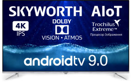 Акция на Телевизор Skyworth 50Q20 AI Dolby Vision от Rozetka