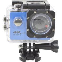 """Акция на Lesko F60R Blue LCD экран 2"""" Waterproof 30М 4K Ultra HD Wi Fi Батарея 900 mAh пульт ДУ от Allo UA"""
