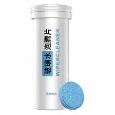Акция на Таблетки для чистки лобового стекла авто Baseus Auto Glass Cleaner Effervescent Tablets White от Allo UA