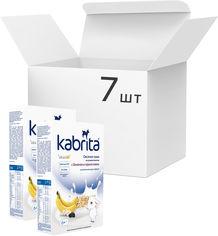 Акция на Упаковка овсяной каши на основе козьего молока Kabrita с бананом и черносливом для детей от 6 месяцев 180 г х 7 шт (8716677008011) от Rozetka