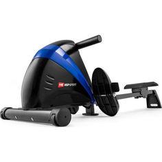 Акция на Гребной тренажер Hop-Sport HS-030R Boost синий (5902308216266) от Allo UA