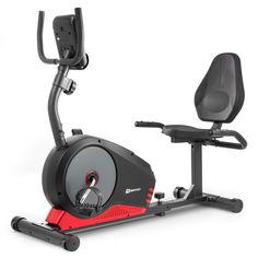 Акция на Велотренажер Горизонтальный HS-040L Root черно-красный - model 2020 от Allo UA