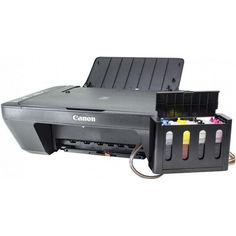 Акция на Полное решение: МФУ CANON E414 + СНПЧ Черный Печать фото текста студия принтер сканер копир подарки ХИТ от Allo UA