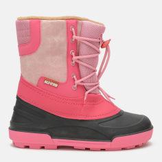 Акция на Сапоги Alisa Line Jeans А501 26-27 (17.7 см) Розовые (2500000014048) от Rozetka
