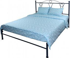 Акция на Комплект постельного белья Руно Бязь Голубой вензель 205х225 (845.114Б_Блакитний вензель) от Rozetka