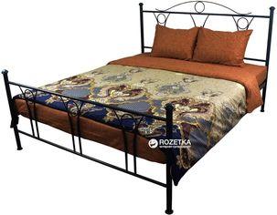 Акция на Комплект постельного белья Руно Сатин 143x215x2 (6.137А_S28-2(A+B)) от Rozetka