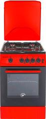 Акция на Газовая плита MILANO ML50G2-01 RED от Rozetka