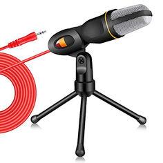 Акция на Конденсаторный микрофон для ПК и ноутбука 3.5 мм 4sport (SF-666) от Allo UA