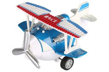 Акция на Самолет металический инерционный Same Toy Aircraft синий SY8013AUt-2 от Podushka