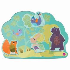 Акция на Настенная игрушка Oribel Veritiplay Веселый кролик и его друзья Oribel OR800-90001 от Podushka