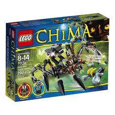 Акция на LEGO Legends of Chima 70130 Sparratus' Spider Stalker Охотник-паук Спаратуса от Allo UA
