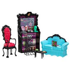 Акция на Кукла Монстер Хай Клодин Вульф Коффин Бин с мебелью Monster High Clawdeen Wolf Coffin Bean от Allo UA