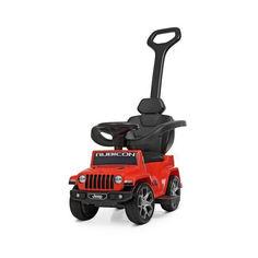 Акция на Детский Электромобиль Каталка-Толокар с родительской ручкой Jeep Rubicon, 64х40х86 см, мотор 6V, арт. 4247EL-3 от Allo UA