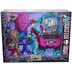 Акция на Монстер хай кафе Скариж - Monster High Scaris - City of Frights Cafe Cart от Allo UA