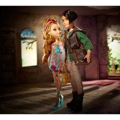 Акция на Куклы Эвер Афтер Хай Эшлин Элла и Хантер Хантсмен Ever After High Ashlynn Ella Hunter Huntsman от Allo UA