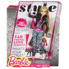 Акция на Игровая Кукла Барби для девочек коллекция Стиль Розовый люкс более 100 образов - Pink Luxe Barbie Style Doll от Allo UA