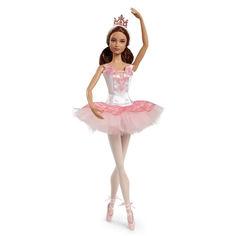 Акция на Коллекционная Кукла Барби Шатенка Испанка Балерина 2016 года Мечты о балете Barbie Collector Ballet Wishes Doll от Allo UA