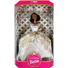 Акция на Коллекционная Кукла Барби Брюнетка Свадебный Клуб 1997 года - Club Wedd Barbie Doll от Allo UA