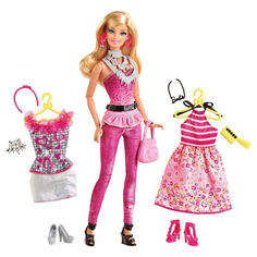 Акция на Кукла Барби модница с гардеробом серия Мода 2012 года, Barbie Doll от Allo UA
