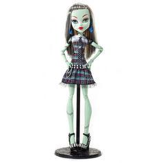 "Акция на Кукла Монстер Хай Френки Штейн 42см Большая в клетчатом платье Monster High 17"";Large Doll Frankie Stein Doll от Allo UA"