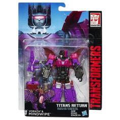Акция на Трансформер Ворас и Майндвайп Возвращение Титанов - Vorath Mindwipe, Deluxe, Hasbro, 14 см от Allo UA
