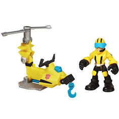 Акция на Детский Трансформер Аксель Фрейзер с микрокоптером Боты спасатели 6 см - AxelMicrocopter, Rescue Bots, Hasbro от Allo UA