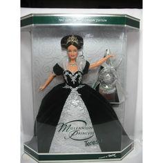 Акция на Коллекционная Кукла Барби Миллениум Брюнетка Тереза 1999 года - Barbie Millennium Princess Teresa Doll от Allo UA