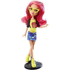 Акция на Кукла Монстер Хай Хоулин Вульф Гик-Шрик в очках с красными волосами Monster High Howleen Wolf Geek Shriek 27см от Allo UA