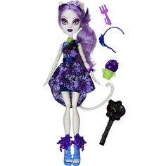 Акция на Кукла Монстер Хай Катрин де Мяу Мрак и Цветение с аксессуарами Monster High Catrine deMew Gloom and Bloom от Allo UA