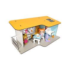 Акция на Кукольный Домик для кукол ЛОЛ Пляжный мини с мебелью и текстилем 40х20х18 см (2401) от Allo UA