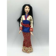 Акция на Коллекционная Кукла Дисней Мулан с красной юбкой Disney Princess Blossom Belleza Mulan Doll Mattel 2004 год от Allo UA