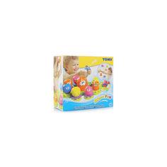 Акция на Детская Развивающая Игрушка Для Ванны Семейка осьминогов 9 штук на присосках с брызгалкой разноцветные Tomy от Allo UA