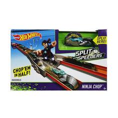 Акция на Детский Игровой Набор Хот Вилс Трек Атака Ниндзя Молниеносные половинки с одной машинкой Hot Wheels Mattel от Allo UA
