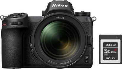 Акция на Фотоаппарат NIKON Z7 + 24-70 F4.0 + 64Gb XQD (VOA010K006) от MOYO
