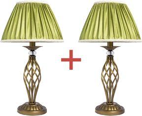 Акция на Настольная лампа Altalusse INL-6121T-01 Golden Е14 1х40Вт 1+1 от Rozetka