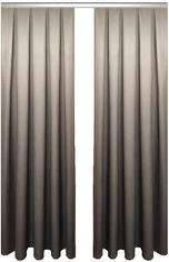 Акция на Комплект штор Декор-Ин Градиент Темно-серый/Светло-серый 275х200 2 шт (Vi 100193) (ROZ6400050388) от Rozetka