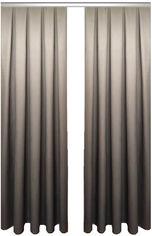 Акция на Комплект штор Декор-Ин Градиент Темно-серый/Светло-серый 255х150 2 шт (Vi 100182) (ROZ6400050377) от Rozetka
