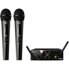 Акция на AKG WMS40 Mini Dual Vocal Set Band-ISM2 (3350H00010) от Allo UA