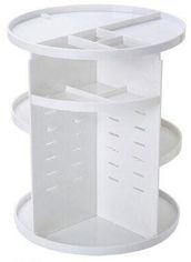 Акция на Органайзер пластиковый для косметики Uydas plastik вращение 360 градусов 32х23 см Белый (8682009803022) от Rozetka