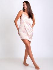 Акция на Ночная рубашка BARWA garments 0167 S Молочная магнолия (2110001671739) от Rozetka